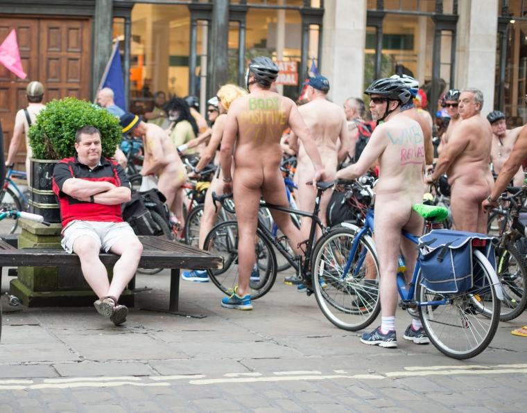 York World Nake Bike Ride21