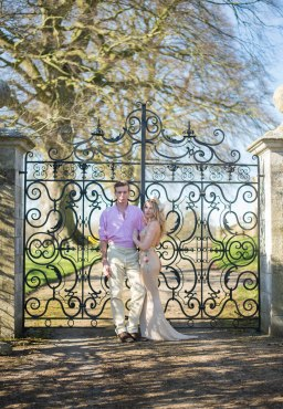 Kirkham Abbey York Engagement Photo Shoot Countryside_04