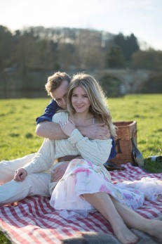 Kirkham Abbey York Engagement Photo Shoot Countryside_21
